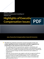 Executive Compensation Update 2011
