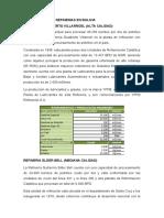 CLASIFICACION DE REFINERIAS EN BOLIVIA