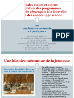 Séminaire 2021 - Intervention de Christiane Terrier