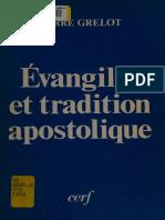 Évangiles et Tradition Apostolique - P. Grelot
