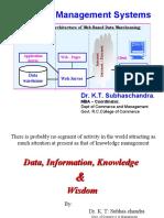 Data Information Wisdom