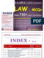 Law Old CourseMCQ