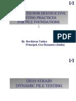 High Strain Pile Dynamic Analysis RAVIKIRAN - PART 3