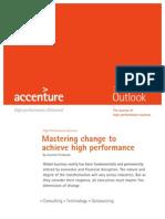 Accenture - Mastering Change