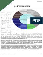 ERP-Enterprise resource planning - Wikipedia