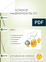 2017170724 Redaction Et Presentation Du Cv