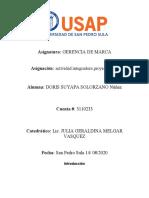 PROYECTO FINAL GERENCIA DE MARCA ,,,,,
