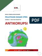 Modul Latsar CPNS - Agenda 2 - Antikorupsi (Baru Revisi)