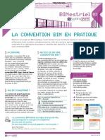 Memo 3 -  La convention BIM en pratique