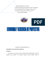 Economia y Gerencia de Proyectos