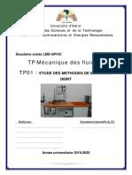 TP 01 Mesure Débit  (1)
