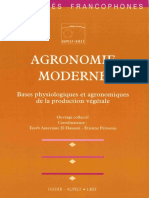 Agronomie Moderne - - Hatier 1994 - 25 60 Mo