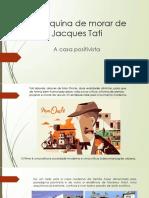 A máquina de morar de Jacques Tati