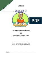 Lengua Cuaderno de Actividades de Refuer