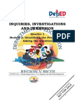 Inquiries Investigation Immersion Module 2 Q1