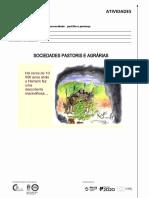 Atividades 01 - Sociedades Pastoris e Agrárias
