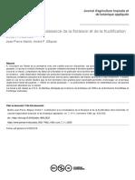 Contribution à La Connaissance de La Floraison Et de La Fructification Chez l'Arachide