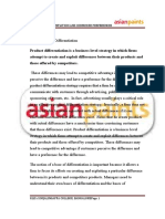 Asian Paints Questionnaire