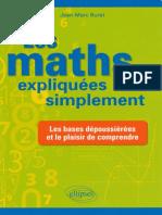 Ellipses Les Maths Expliquees Simplement