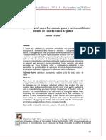 O design industrial como ferramenta para a sustentabilidade estudo de caso do couro de peixe