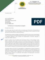 2021-04-05 Referido Al Hon. Rafael a Machargo y Enrique Questel Al OEG...