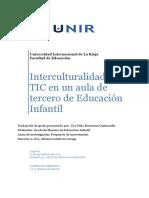 Interculturalidad y Tic en Una Aula de Tercero de Educación Infantil