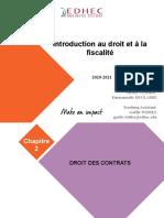 2021 - Droit des contrats version étudiant