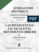 El Materialismo Historico - Gorter y Pannekoek