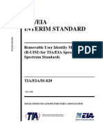 TIA-EIA-IS-820