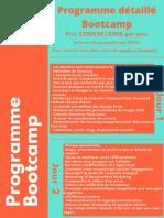 Programme détaillé Bootcamp PAT pour site