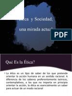 Ética  y Sociedad PPT