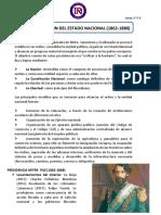 CLASE 2  LA ORGANIZACIÓN DEL ESTADO NACIONAL