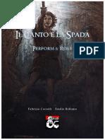 Il Canto e la Spada - Manuale base
