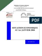 Situation économique au 1er Janvier 2004 (INSTAT 2004)