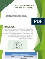 JORNADA DE PREVENCION DE ADICCIONES EN AMBITOS LABORALES
