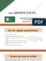 Diseño de Paginas en Miscrosoft Excel