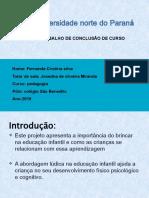 projeto slide PEDAGOGIA