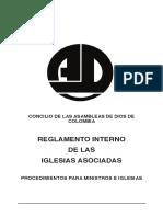 Reglamento Interno Iglesia Local Manual de Doctrinas Biblicas3 160808131338