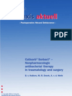 10. Cutisorb Sorbact - Non-pharmacologic antibacterial therapy in traumatology and surgery