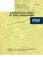 Agricultural News in Ohio Newspapers