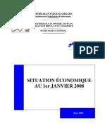 Situation économique au 1er Janvier 2008 (INSTAT/2008)