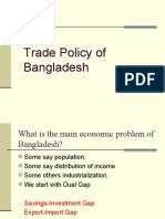 Trade Policy of Bangladesh D