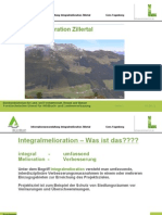Präsentation Integralmelioration von DI Josef Plank