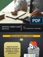 SISTEMA TRIBUTARIO - RENTAS