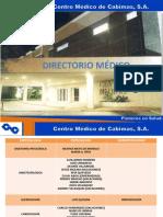 DIRECTORIO MÉDICO JUNIO 2019 ACTUALIZADO