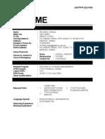 Format baru resume (versi Ogos 2009) - utk sesi Dis 09 - april 2010