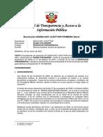 Tribunal de Transparencia y Acceso a la Información pública determina que los emails institucionales de funcionarios públicos no están protegidos por el derecho al secreto de las comunicaciones.