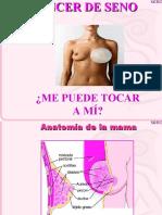 DIAPOSITIVAS CHARLA CANCER DE SENO(angie)