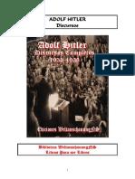 Adolf Hitler Discursos Completos  (1933 - 1938)®