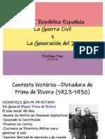 11_2República-Guerra Civil y Generación Del 27
